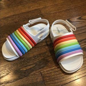 Mini Melissa Little Girls Rainbow Beach Slide